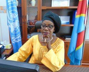 REPRESENTANTE ONU FEMME RDC